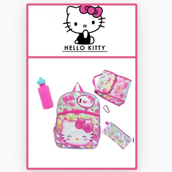 106ae2868 Hello Kitty Accessories | 5piece Backpack Set | Poshmark
